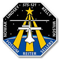 Ecusson mission STS 121. Image : NASA